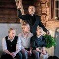 5 Tõnu Oja (seisab) – praost Odja, Pääru Oja – Ekke, Kaspar Velberg – sulane Jaagup Seenepoiss ja Külli Teetamm – köögitüdruk Kadi.