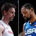 OLÜMPIASTUUDIO | Eelvaade: kas Hispaania vanameistrid suudavad alistada NBA ässadest koosneva USA koondise?