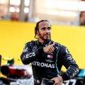 Lewis Hamilton noppis järjekordse võidu.