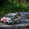 Toyota on enne Horvaatia rallit enesekindel, eriti kuna Elfyn Evans võitis testikatse.