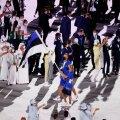 КАК ЭТО БЫЛО | Эндрексон и Эллерманн вывели сборную Эстонии на Церемонии открытия Олимпиады. Осака зажгла Олимпийский огонь. Парень из Тонга снова обнажил торс