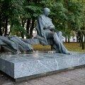 Tammsaare monument Tallinnas