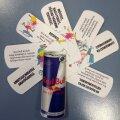Tudengiüritusel jagatud Red Bulli reklaammaterjal