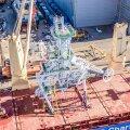 ФОТО | BLRT Grupp построил уникальную башню со спускоподъемным оборудованием для морской добычи алмазов