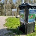 В Хааберсти установлены контейнеры для сбора опасных слизней