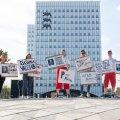 Eesti 200 noortekogu meeleavaldus pensionireformi vastu