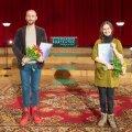 Raadioteatri näitlejapreemia laureaadid 2020 Ursula Ratasepp ja Märt Avandi