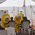 Kaitseminister: kulutulena leviv ebola ohustab Libeeria olemasolu