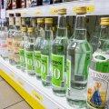 Odav viina hind Lätis viib suure osa Lõuna-Eesti poodide käibest