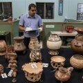 FOTOD | Costa Rica sai Venezuelast tagasi Harry Männililt konfiskeeritud Kolumbuse-eelsed esemed