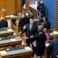 Riigikogu asendusliikmed andsid ametivande