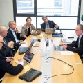 Rektorite nõukogu kogunemine Tallinna ülikoolis tänavu mais