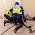 Politseikooli treening