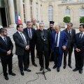Prantsuse usujuhid nõudsid kohtumisel Hollande'iga pühakodade paremat kaitsmist