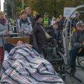 Puuetega inimeste meeleavaldus Tallinnas