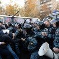 Moskvas läks politsei ja meeleavaldajate vahel lööminguks