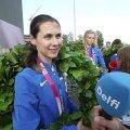 INTERVJUU | Olümpiakullaga Eesti kõigi aegade suurimaks medalivõitjaks tõusnud Irina Embrich: pinge oli suur, aga kõik läks hästi