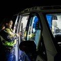 Politsei puhumisreidil (foto on illustratiivne).