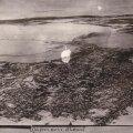Saksa õhuväe tehtud üliunikaalne foto vaatega Tallinnale 24. veebruari 1918 paiku. Sadamas näha lahkuv punalaevastik.