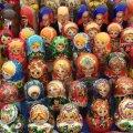 Матрёшка, один из сувениров из России.