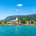 Idülliline Austria väikelinn Strobl