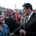 Diego Maradona ja Nicolás Maduro