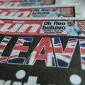 Meediauuring: euroskeptilised seisukohad on briti ajalehtedes täielikus ülekaalus