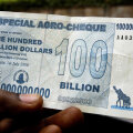 Zimbabwe keskpanga varasem zombiraha