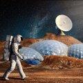 Kunstniku nägemus inimese elust Marsil (Foto: Pixabay / simisi1)