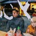 Nikolai Mihailišin lastega Burger Boxis