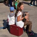 Lapsed Paunvere väljanäitusel