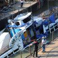 ФОТО и ВИДЕО: В Будапеште со дна Дуная подняли затонувший туристический катер и обнаружили тела погибших