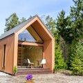 Majatüüp Pille – 32,6m² suuruse põrandapinnaga kodu. Maja on ehitatud aastaringseks kasutamiseks.