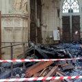 Nantes'i katedraali põlengu asjus üle kuulatud Rwanda põgenik vabastati süüdistust esitamata