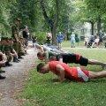 Kõrgemasse sõjakooli igaüks ei pääse, küll aga pääseb ohvitserikogemusega tööle pea igale poole.  Foto: mil.ee