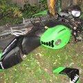 FOTO: Lihulas hukkus noor mootorrattur