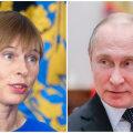 Kersti Kaljulaid ja Vladimir Putin