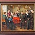 "Tüüpiline perepilt: August Georg Wilhelm Pezold (1794–1859) ""Döppi perekonna portree"", 1845. Stanislav Stepaško"