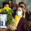 Президентские выборы в Молдове выиграла лидер проевропейской партии Майя Санду