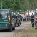 VIDEO ja FOTOD | Leedu valitsushoone juures protestiti migrandilaagrite vastu