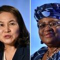 Министр торговли Южной Кореи Ю Мён Хи и экс-министр финансов Нигерии Нгози Оконджо-Ивеала. Одна из них станет седьмым гендиректором ВТО
