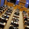 Enamik Keskerakonna fraktsiooni liikmeid Eesti vabadusvõitlejaid tunnustava eelnõu hääletusest osa ei võtnud
