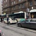 Täna õhtul juhtus Narva maanteel õnnetus.