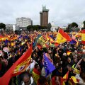 В Мадриде прошла многотысячная акция протеста против политики правительства в Каталонии