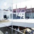 Linnateatri uue kompleksi eskiis