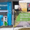 Alexela открыла в Тарту новую заправку CNG