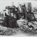 Tallinna Harju tänav pärast märtsipommitamist