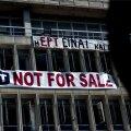 Kreeka märulipolitsei tühjendas endise rahvusringhäälingu peamaja