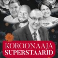 Koroonaaja superstaarid plakatil.
