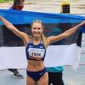 Pippi Lotta Enok võitis juunioride MM-il seitsmevõistluses hõbemedali.